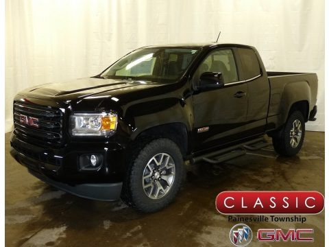 Onyx Black 2018 GMC Canyon All Terrain Extended Cab 4x4