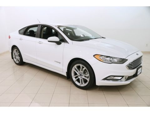Oxford White 2017 Ford Fusion SE