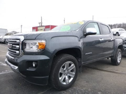 Cyber Gray Metallic 2016 GMC Canyon SLT Crew Cab 4x4