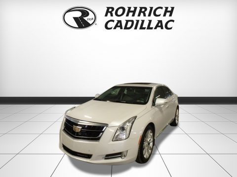 Crystal White Tricoat 2017 Cadillac XTS Luxury AWD