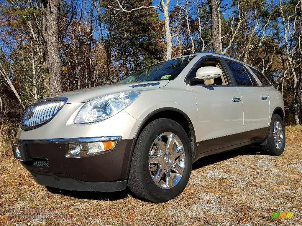 Gold Mist Metallic / Cocoa/Cashmere Buick Enclave CXL AWD