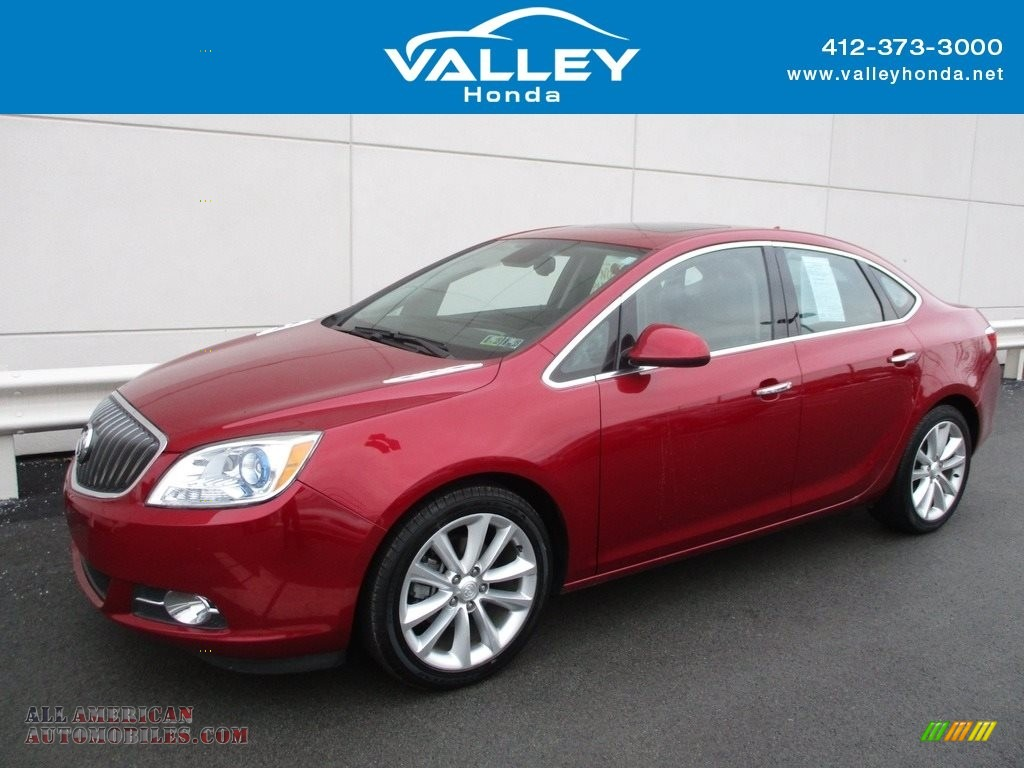 2013 Verano FWD - Crystal Red Tintcoat / Medium Titanium photo #1