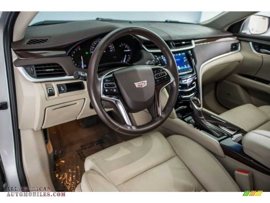 2017 XTS Luxury - Radiant Silver Metallic / Shale w/Cocoa Accents photo #15