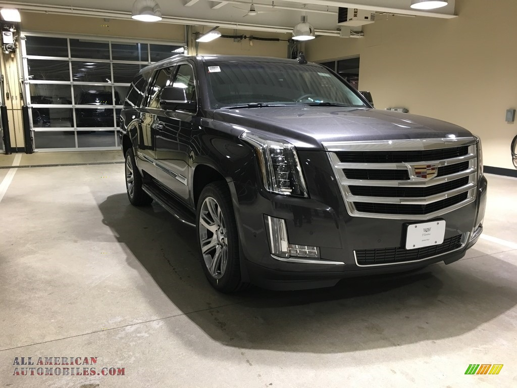 2018 Escalade ESV Luxury 4WD - Dark Granite Metallic / Jet Black photo #1