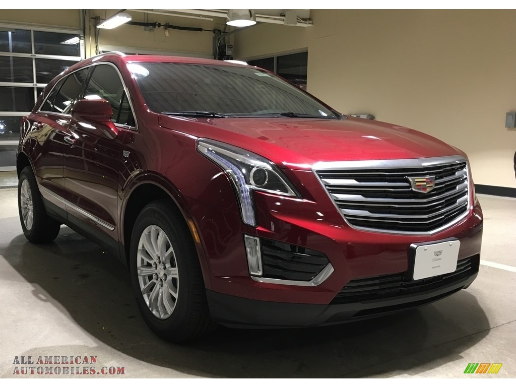 2018 XT5 AWD - Red Passion Tintcoat / Sahara Beige photo #1
