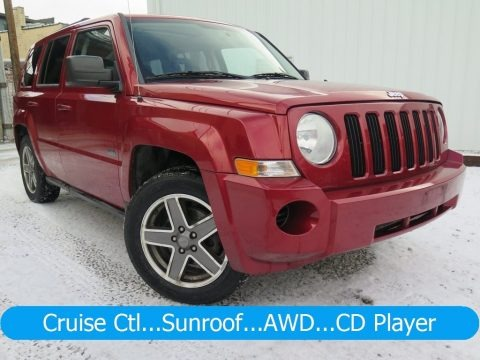 Inferno Red Crystal Pearl 2009 Jeep Patriot Sport 4x4