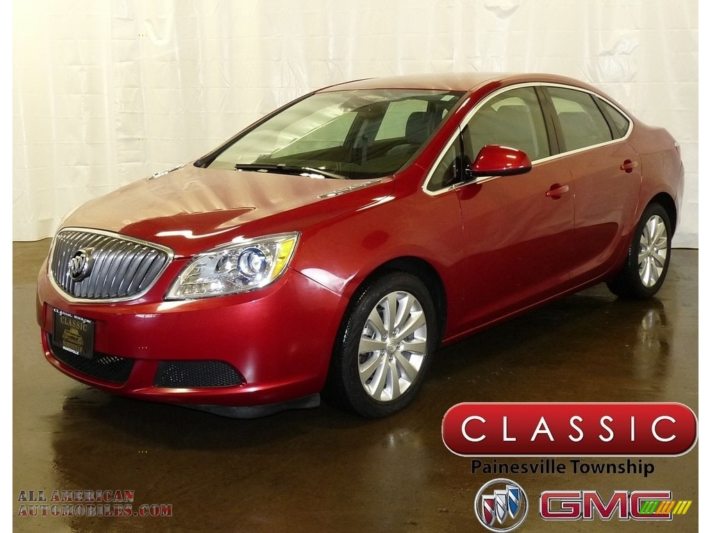 2016 Verano Verano Group - Crystal Red Tintcoat / Medium Titanium photo #1