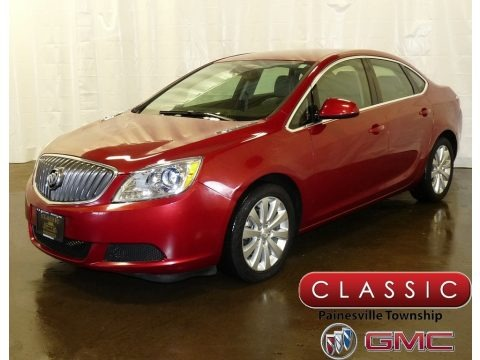 Crystal Red Tintcoat 2016 Buick Verano Verano Group