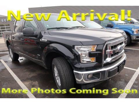 Shadow Black 2017 Ford F150 XLT SuperCrew 4x4