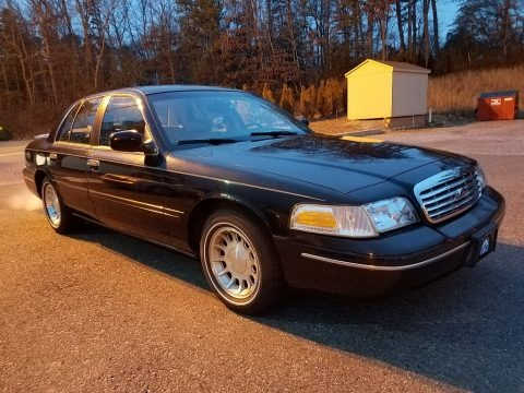 Black 1999 Ford Crown Victoria LX