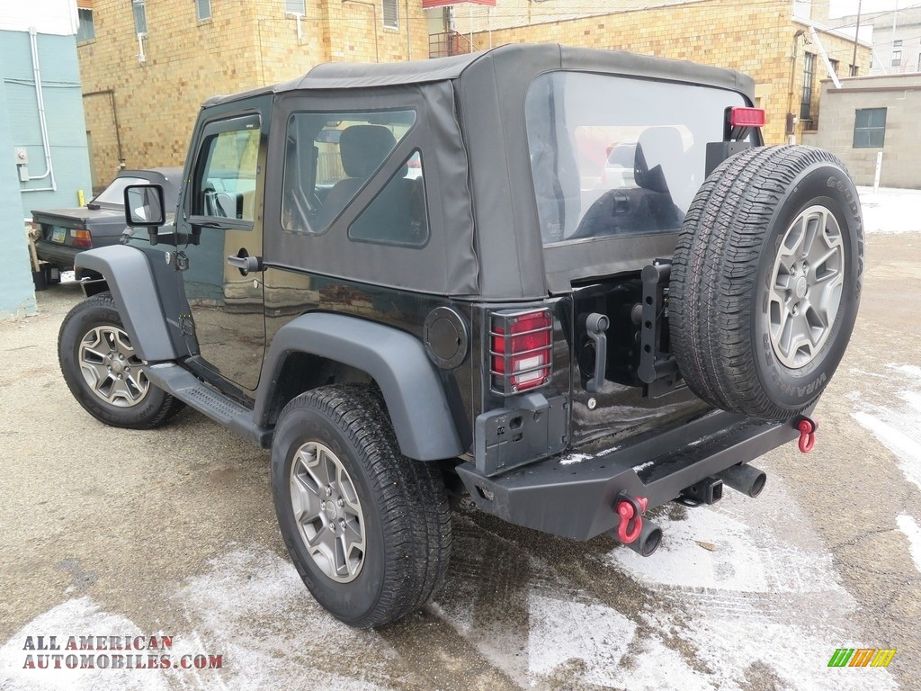 2014 Wrangler Sport 4x4 - Black / Black photo #9