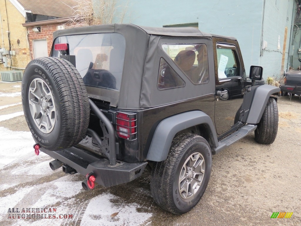 2014 Wrangler Sport 4x4 - Black / Black photo #11