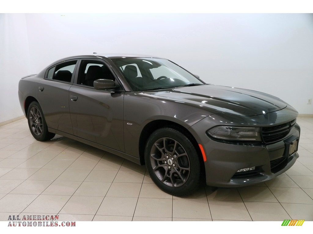 2018 Charger GT AWD - Granite Pearl / Black photo #1