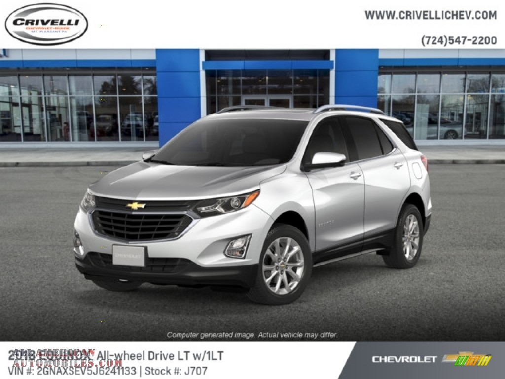 2018 Equinox LT AWD - Iridescent Pearl Tricoat / Jet Black photo #1