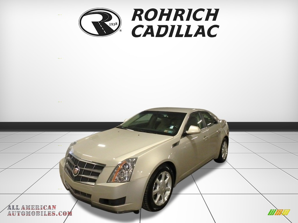 2009 CTS 4 AWD Sedan - Gold Mist / Cashmere/Cocoa photo #1