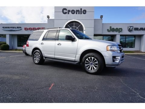 Ingot Silver 2017 Ford Expedition XLT