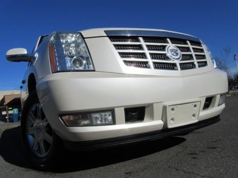 White Diamond 2007 Cadillac Escalade AWD