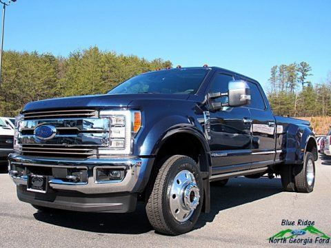 Blue Jeans 2018 Ford F450 Super Duty King Ranch Crew Cab 4x4