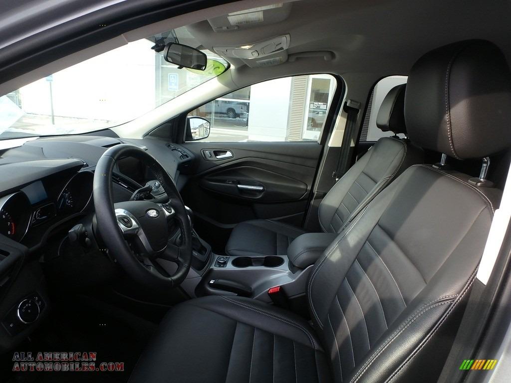2015 Escape SE 4WD - Ingot Silver Metallic / Charcoal Black photo #10