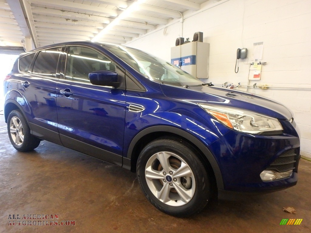 2015 Escape SE - Deep Impact Blue Metallic / Charcoal Black photo #1