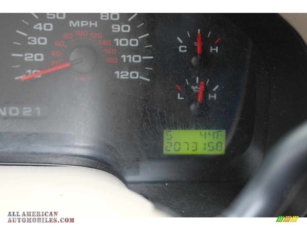2005 F150 XLT SuperCrew - Arizona Beige Metallic / Tan photo #29