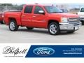 Chevrolet Silverado 1500 LT Crew Cab Victory Red photo #1