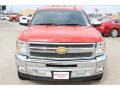 Chevrolet Silverado 1500 LT Crew Cab Victory Red photo #2