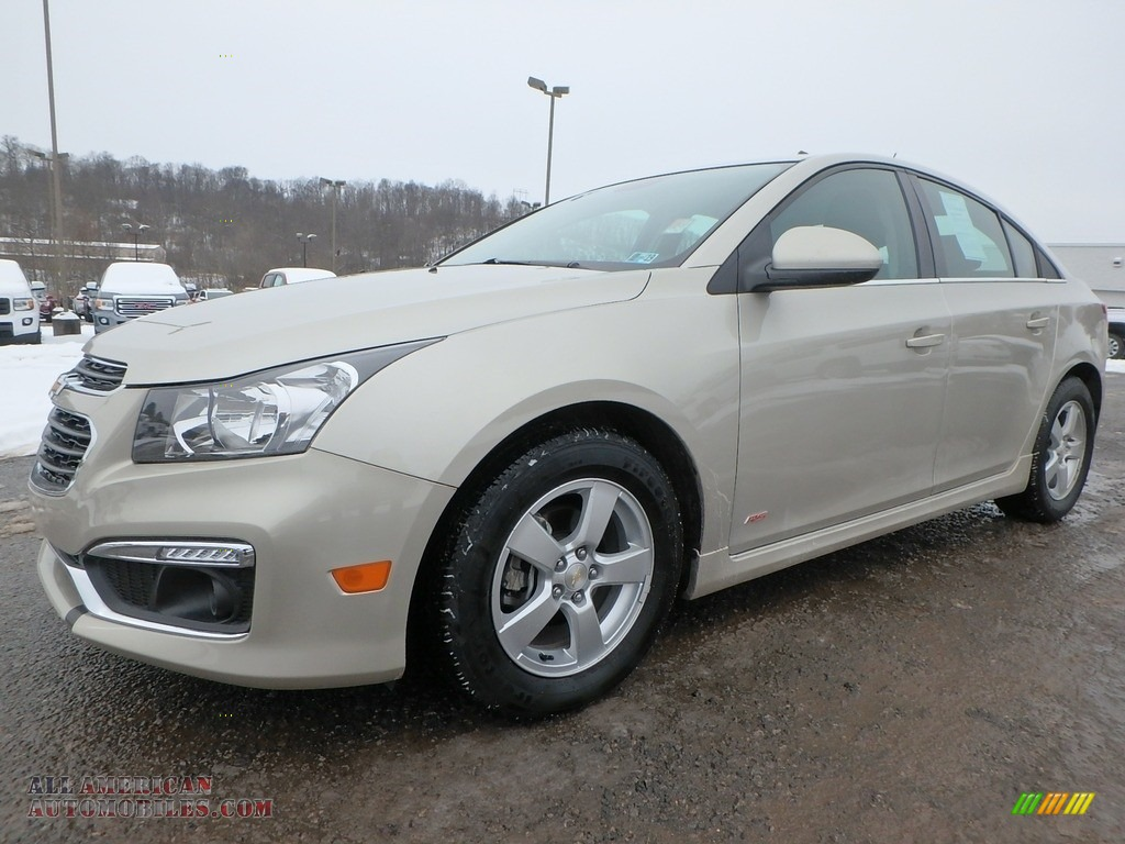 Champagne Silver Metallic / Brownstone Chevrolet Cruze Limited LT