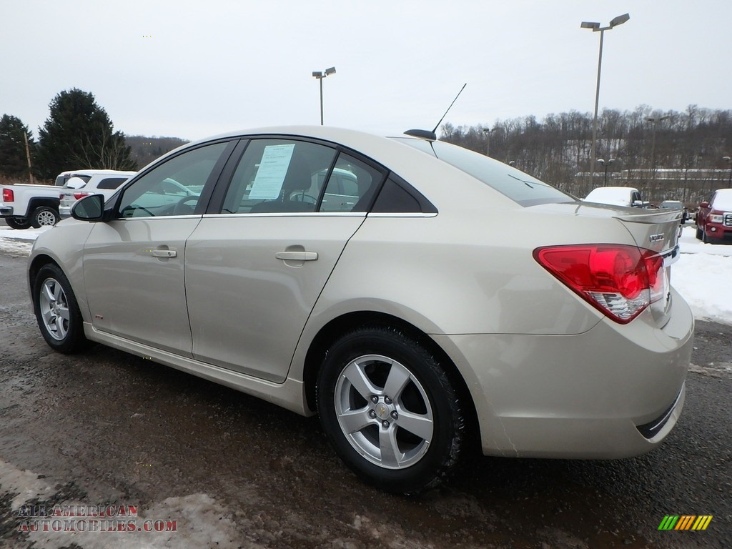2016 Cruze Limited LT - Champagne Silver Metallic / Brownstone photo #12
