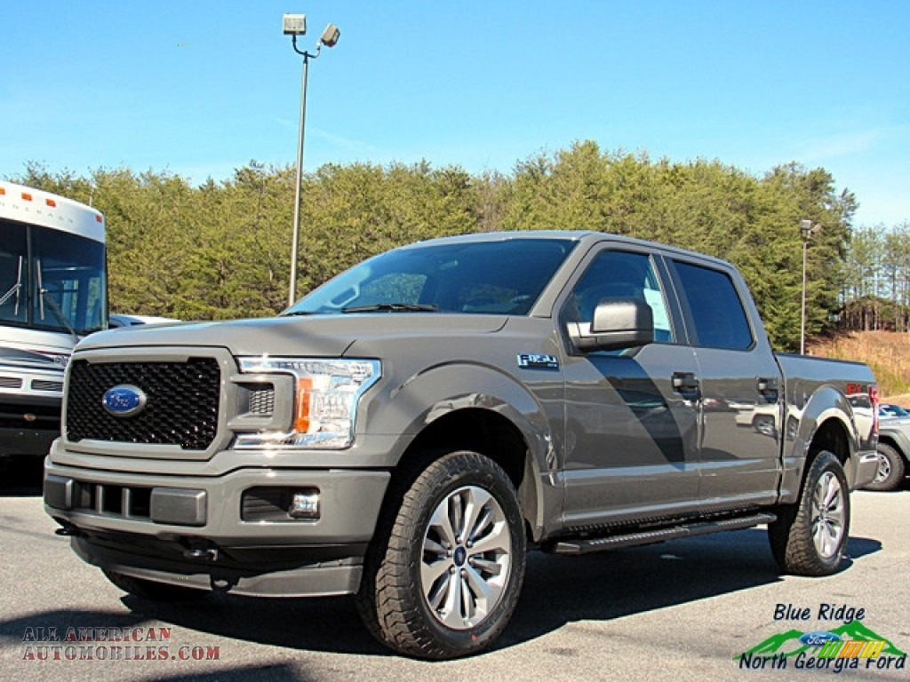2018 F150 STX SuperCrew 4x4 - Lead Foot / Earth Gray photo #1