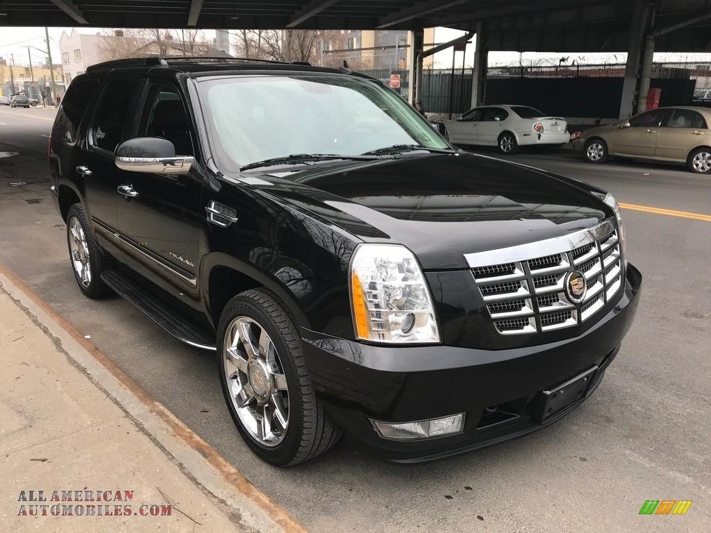 2011 Escalade Luxury AWD - Black Raven / Ebony/Ebony photo #2