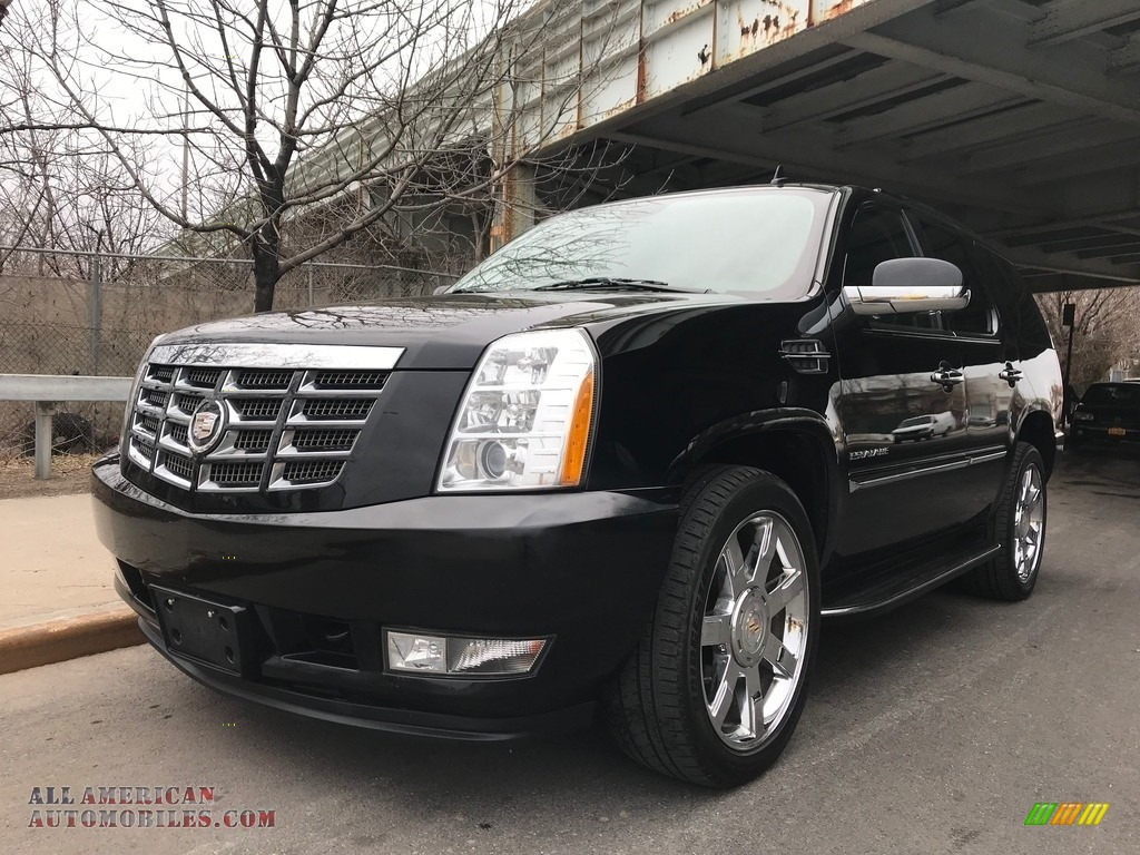 2011 Escalade Luxury AWD - Black Raven / Ebony/Ebony photo #3