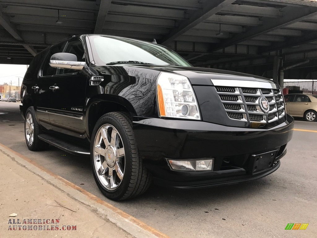 2011 Escalade Luxury AWD - Black Raven / Ebony/Ebony photo #4