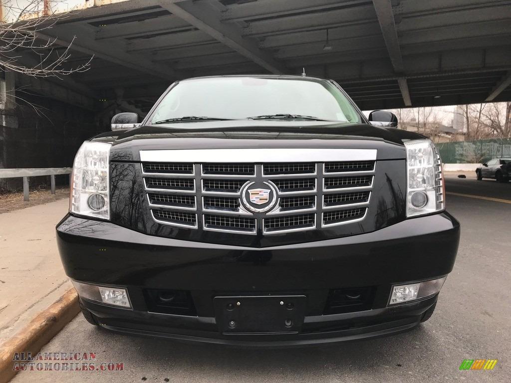 2011 Escalade Luxury AWD - Black Raven / Ebony/Ebony photo #6