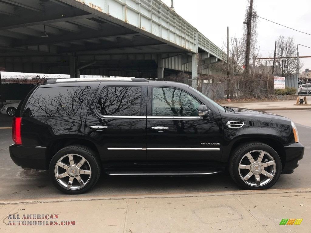 2011 Escalade Luxury AWD - Black Raven / Ebony/Ebony photo #7