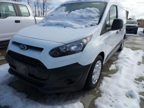 Frozen White 2018 Ford Transit Connect XL Van