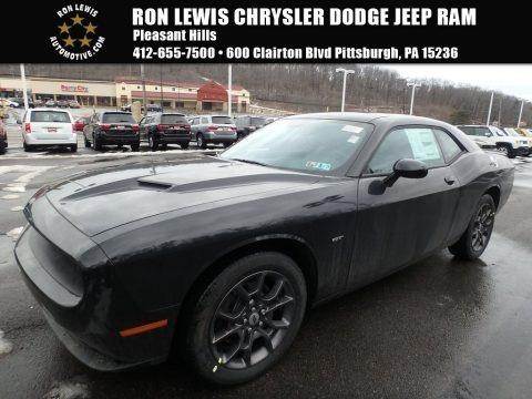 Pitch Black 2018 Dodge Challenger GT AWD