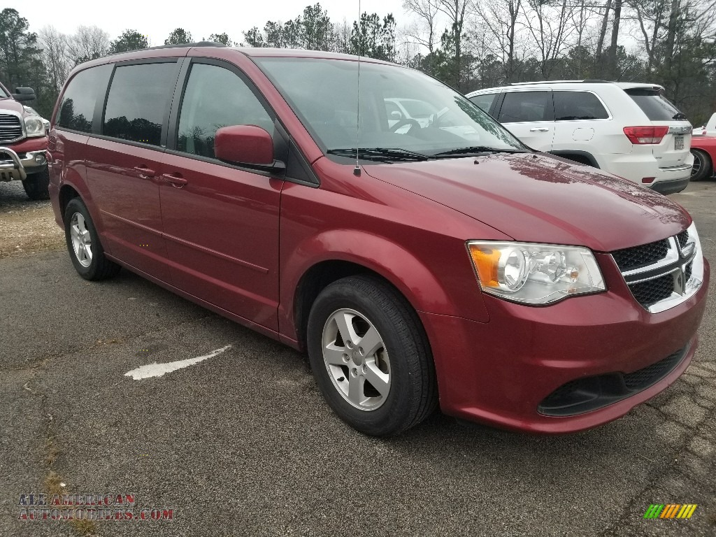 2011 Grand Caravan Mainstreet - Deep Cherry Red Crystal Pearl / Black/Light Graystone photo #1
