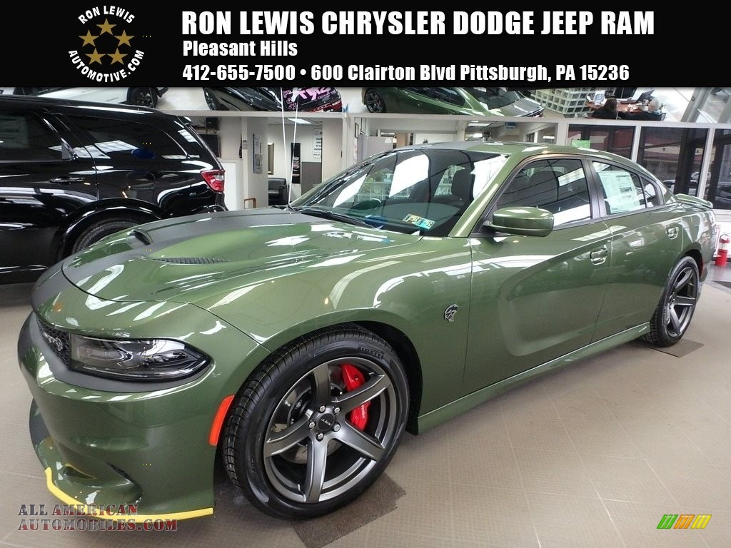 Ron Lewis Jeep >> 2018 Dodge Charger SRT Hellcat in F8 Green - 225343 | All American Automobiles - Buy American ...