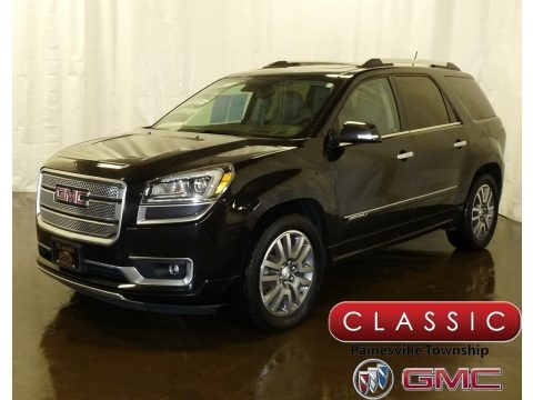 Carbon Black Metallic 2015 GMC Acadia Denali AWD