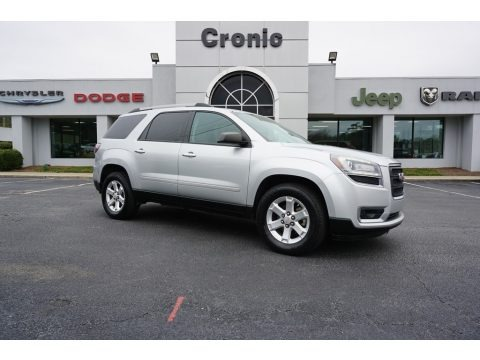 Quicksilver Metallic 2014 GMC Acadia SLE