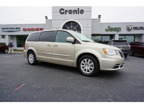 Cashmere/Sandstone Pearl 2016 Chrysler Town & Country Touring