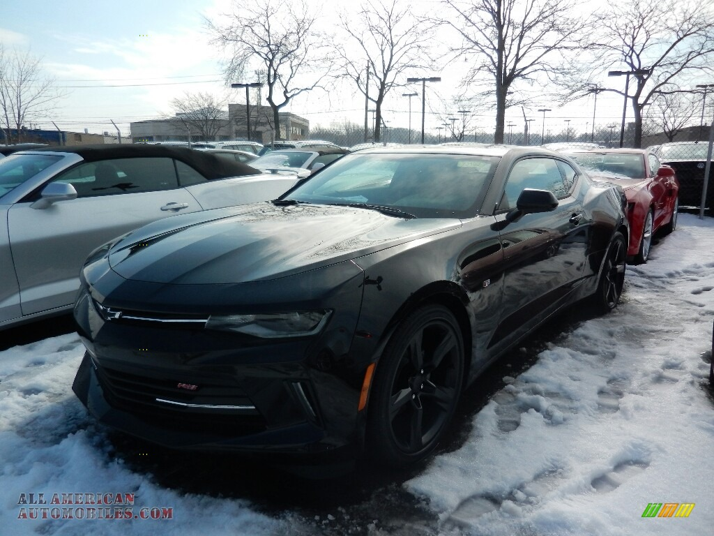 Mosaic Black Metallic / Jet Black Chevrolet Camaro LT Coupe