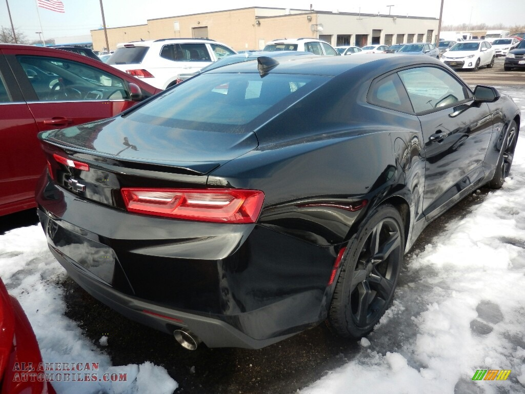 2018 Camaro LT Coupe - Mosaic Black Metallic / Jet Black photo #4
