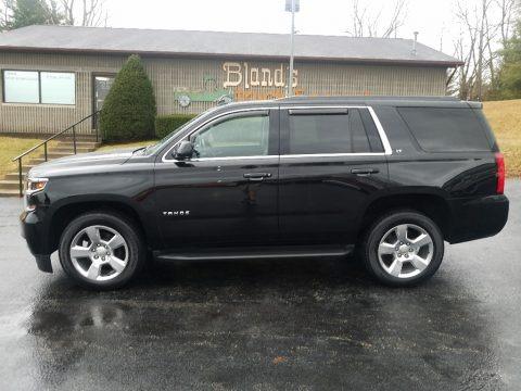 Black 2015 Chevrolet Tahoe LT 4WD