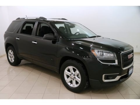 Ebony Twilight Metallic 2016 GMC Acadia SLE AWD