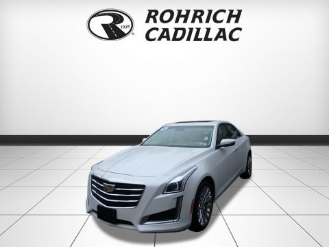Crystal White Tricoat 2016 Cadillac CTS 2.0T Luxury AWD Sedan