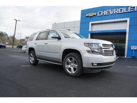 Silver Ice Metallic 2018 Chevrolet Tahoe Premier