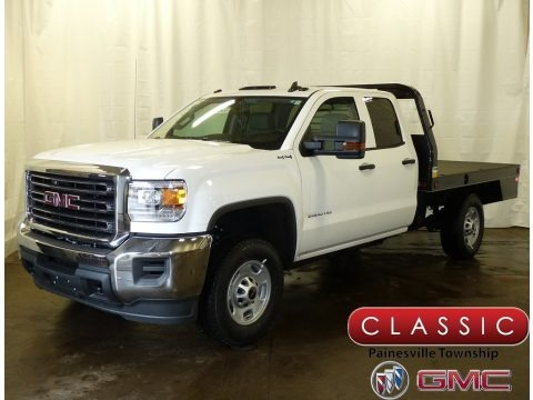 Summit White 2018 GMC Sierra 2500HD Double Cab 4x4