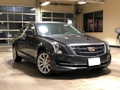 Phantom Gray Metallic 2018 Cadillac ATS AWD